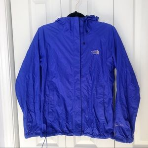 The north face rain shell